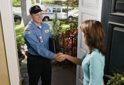 in-home estimate from BW/Cook Service Experts Heating & Air Conditioning